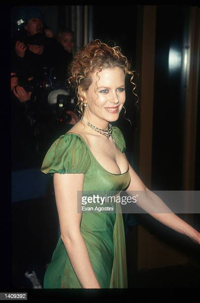 Actress Nicole Kidman attends a movie premiere December 7, 1996 in New York City. Kidman, born in Hawaii and raised in Australia, started her acting...