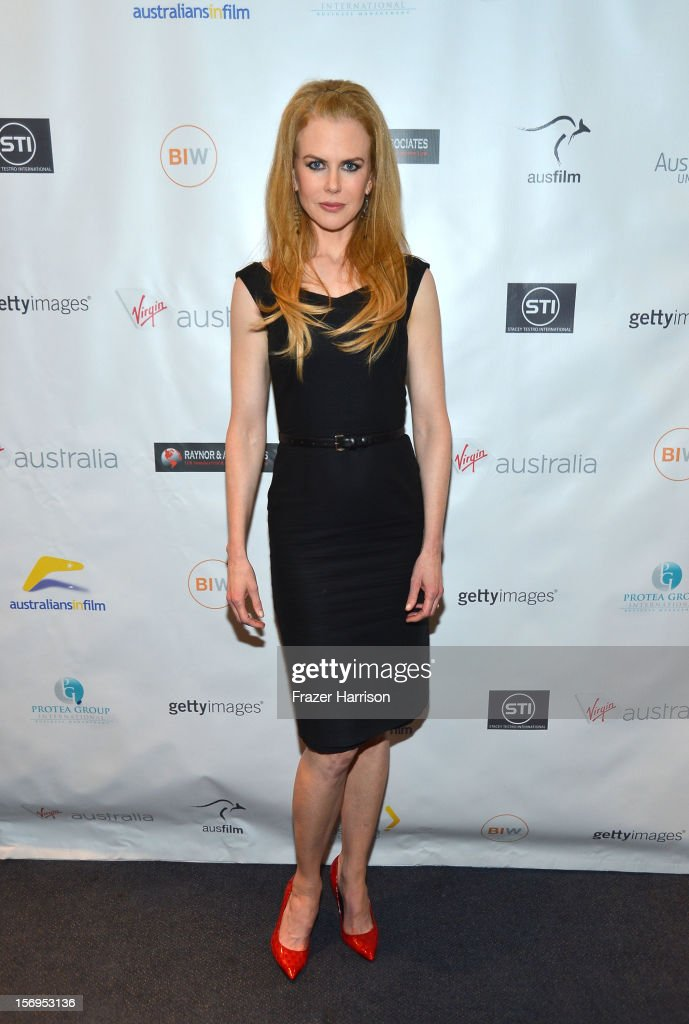 Actress Nicole Kidman attends Australians In Film Screening of 'The Paperboy' at Harmony Gold Theatre on November 25, 2012 in Los Angeles, California.