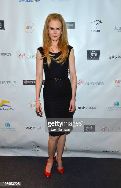 """Actress Nicole Kidman attends Australians In Film Screening of """"The Paperboy"""" at Harmony Gold Theatre on November 25, 2012 in Los Angeles, California."""