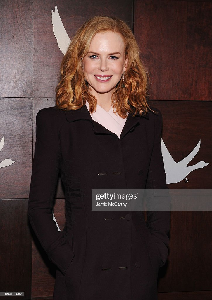 Actress Nicole Kidman attends Grey Goose Blue Door party for Fox Searchlight Pictures 'Stoker' and 'The East' on January 20, 2013 in Park City, Utah.