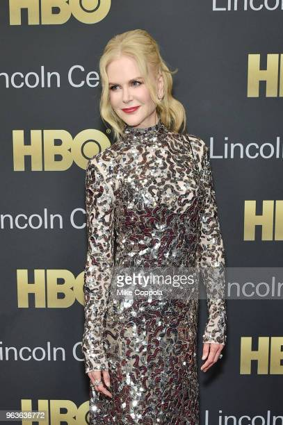 Actress Nicole Kidman attends Lincoln Center's American Songbook Gala at Alice Tully Hall on May 29 2018 in New York City