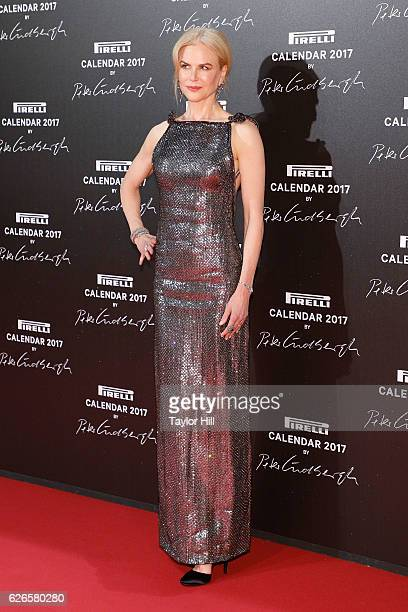 Actress Nicole Kidman attends the 2016 Pirelli Calendar unveiling gala at La Cite Du Cinema on November 29 2016 in SaintDenis France