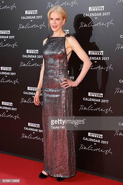 Actress Nicole Kidman attends the 2016 Pirelli Calendar unveiling gala at La Cite Du Cinema on November 29 2016 in SaintDenis France