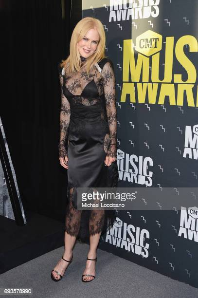 Actress Nicole Kidman attends the 2017 CMT Music Awards at the Music City Center on June 7 2017 in Nashville Tennessee