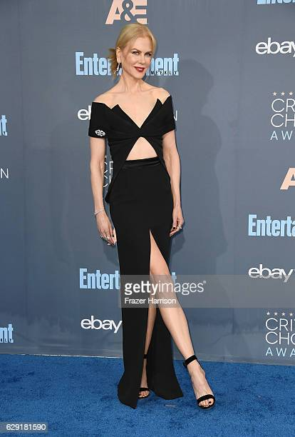 Actress Nicole Kidman attends The 22nd Annual Critics' Choice Awards at Barker Hangar on December 11 2016 in Santa Monica California