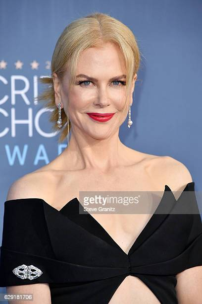 Actress Nicole Kidman attends The 22nd Annual Critics' Choice Awards at Barker Hangar on December 11, 2016 in Santa Monica, California.