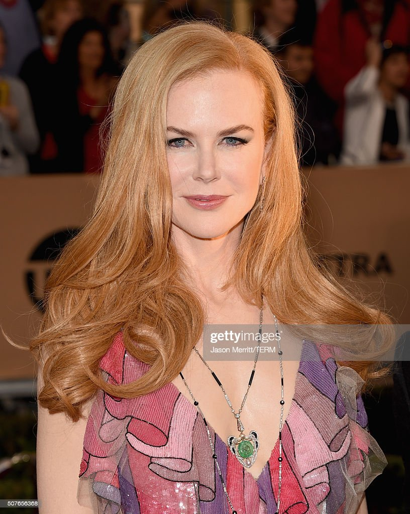 Actress Nicole Kidman attends The 22nd Annual Screen Actors Guild Awards at The Shrine Auditorium on January 30, 2016 in Los Angeles, California. 25650_015