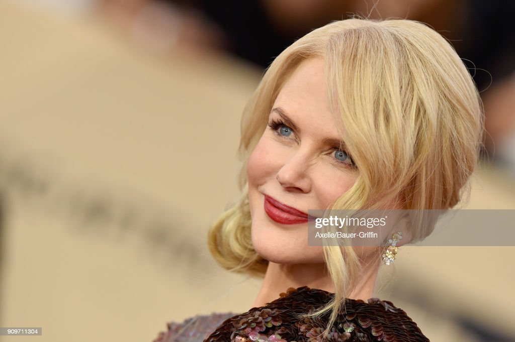 Actress Nicole Kidman attends the 24th Annual Screen Actors Guild Awards at The Shrine Auditorium on January 21, 2018 in Los Angeles, California.