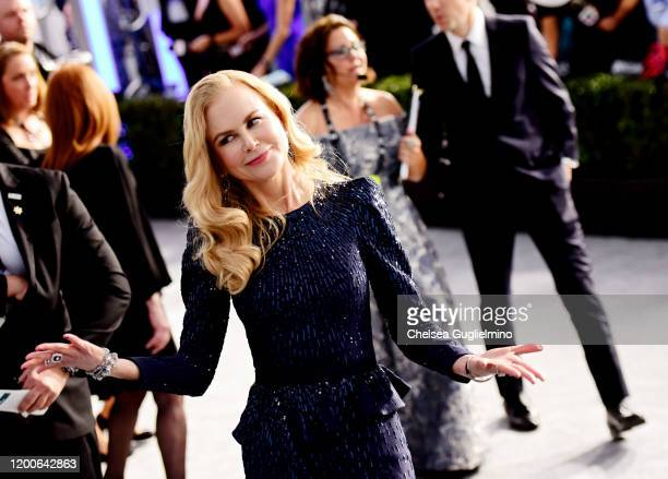 Actress Nicole Kidman attends the 26th annual Screen ActorsGuild Awards at The Shrine Auditorium on January 19, 2020 in Los Angeles, California.