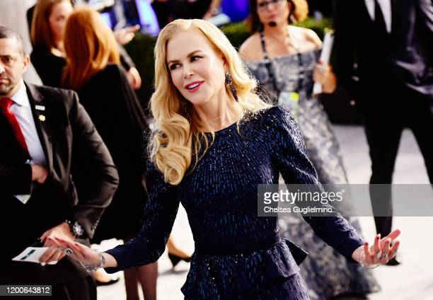 Actress Nicole Kidman attends the 26th annual Screen Actors Guild Awards at The Shrine Auditorium on January 19 2020 in Los Angeles California
