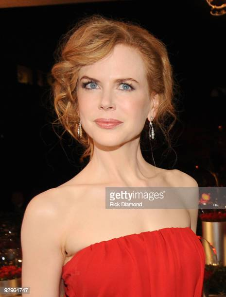 Actress Nicole Kidman attends the 57th Annual BMI Country Awards at BMI on November 10 2009 in Nashville Tennessee