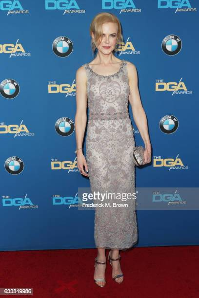 Actress Nicole Kidman attends the 69th Annual Directors Guild of America Awards at The Beverly Hilton Hotel on February 4 2017 in Beverly Hills...