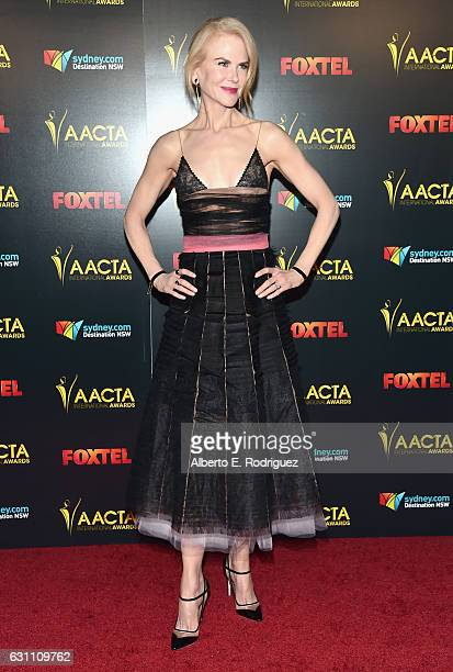 Actress Nicole Kidman attends the 6th AACTA International Awards at Avalon Hollywood on January 6 2017 in Los Angeles California