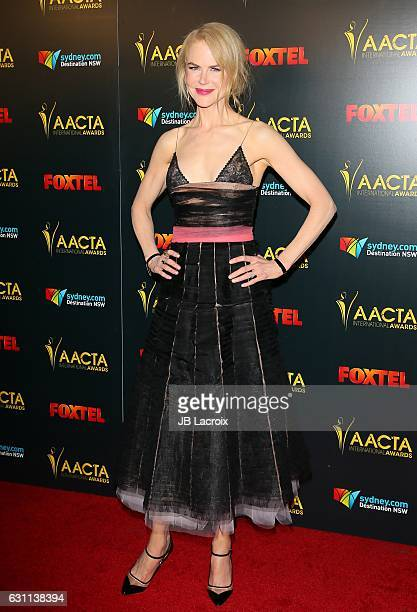 Actress Nicole Kidman attends the 6th AACTA International Awards on January 6 2017 in Los Angeles California