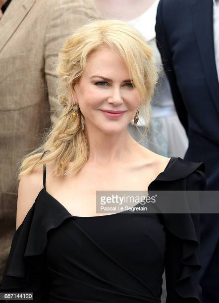 Actress Nicole Kidman attends the 70th Anniversary Photocall during the 70th annual Cannes Film Festival at Palais des Festivals on May 23 2017 in...