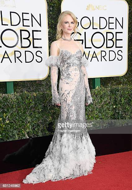 Actress Nicole Kidman attends the 74th Annual Golden Globe Awards at The Beverly Hilton Hotel on January 8 2017 in Beverly Hills California