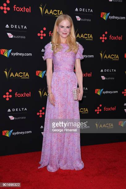 Actress Nicole Kidman attends the 7th AACTA International Awards at Avalon Hollywood in Los Angeles on January 5 2018 in Hollywood California