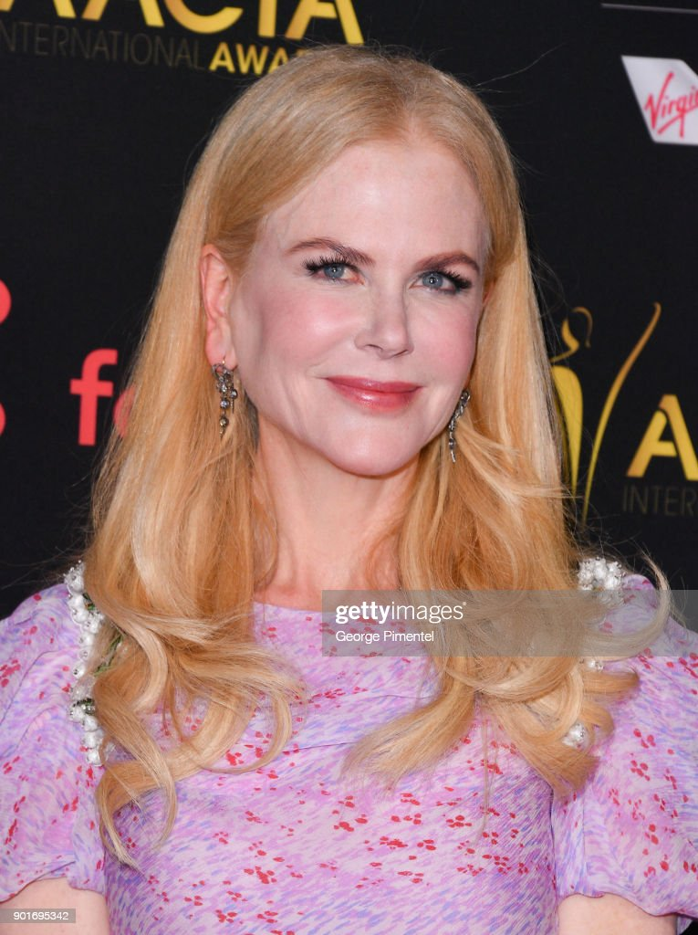 Actress Nicole Kidman attends the 7th AACTA International Awards at Avalon Hollywood in Los Angeles on January 5, 2018 in Hollywood, California.