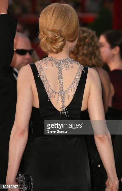 Actress Nicole Kidman attends the 80th Annual Academy Awards at the Kodak Theatre on February 24 2008 in Los Angeles California