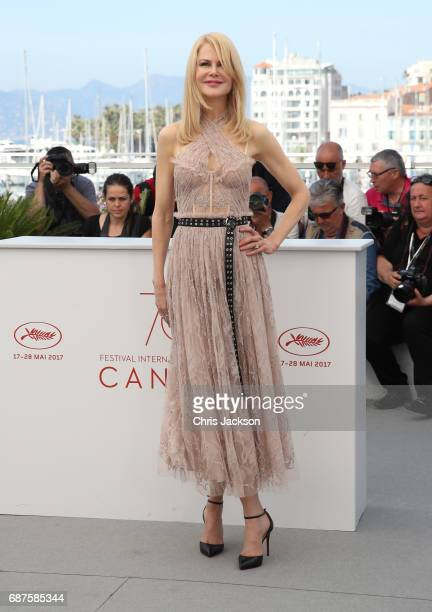"Actress Nicole Kidman attends ""The Beguiled"" photocall during the 70th annual Cannes Film Festival at Palais des Festivals on May 24, 2017 in Cannes,..."