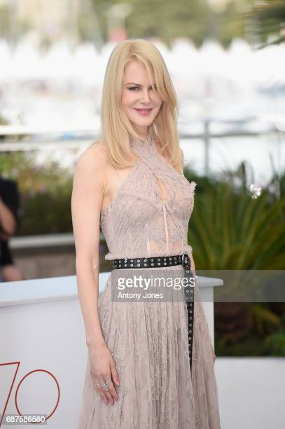 Actress Nicole Kidman attends The Beguiled photocall during the 70th annual Cannes Film Festival at Palais des Festivals on May 24 2017 in Cannes...