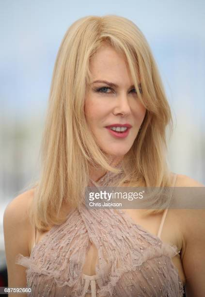 """Actress Nicole Kidman attends """"The Beguiled"""" photocall during the 70th annual Cannes Film Festival at Palais des Festivals on May 24, 2017 in Cannes,..."""