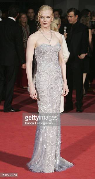 """Actress Nicole Kidman attends the """"Birth"""" Premiere at the 61st Venice Film Festival on September 8, 2004 in Venice, Italy."""