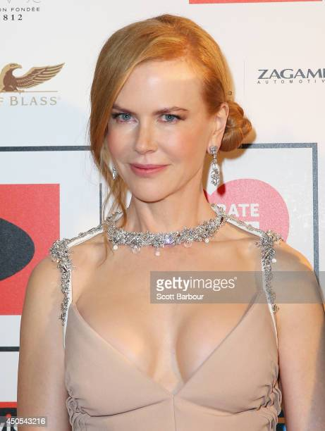 Actress Nicole Kidman attends the Celebrate Life Ball at Grand Hyatt Melbourne on June 13 2014 in Melbourne Australia