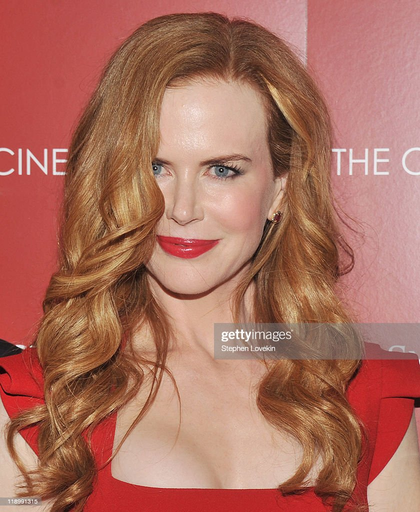 Actress Nicole Kidman Attends The Cinema Society With