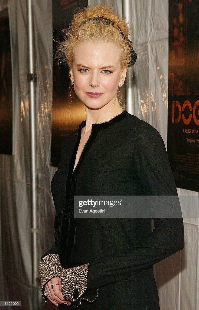 Actress Nicole Kidman (wearing Lanvin) attends the 'Dogville' New York Premiere at Clearview Chelsea West Cinemas March 22, 2004 in New York City.