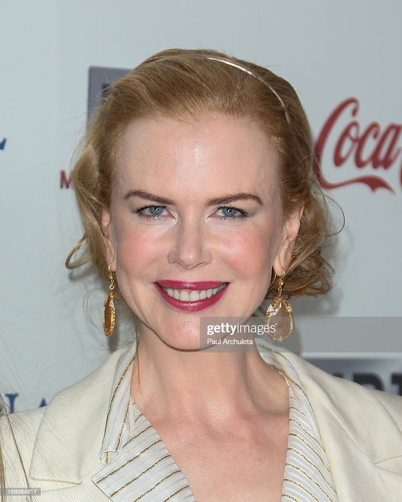 Actress Nicole Kidman attends the 'Gold Meets Golden' event on January 12, 2013 in Los Angeles, California.