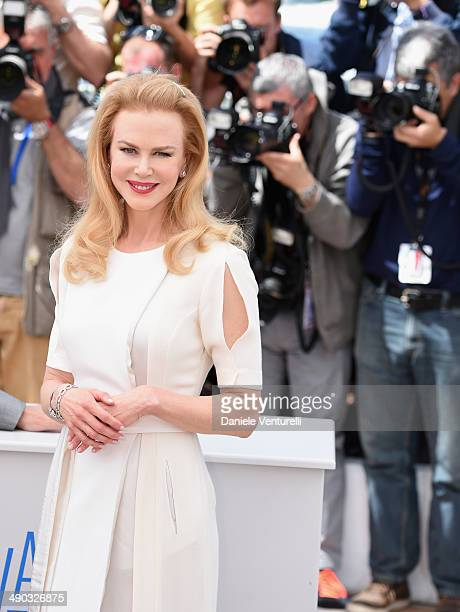 """Actress Nicole Kidman attends the """"Grace of Monaco"""" photocall during the 67th Annual Cannes Film Festival on May 14, 2014 in Cannes, France."""