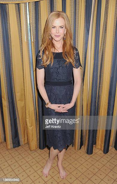 Actress Nicole Kidman attends the HBO Winter 2012 TCA Panel at Langham Hotel on January 13 2012 in Pasadena California
