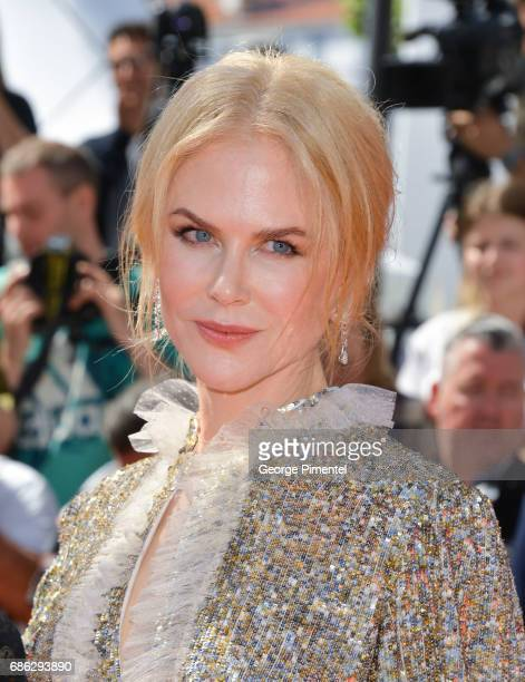 Actress Nicole Kidman attends the How To Talk To Girls At Parties screening during the 70th annual Cannes Film Festival at on May 21 2017 in Cannes...