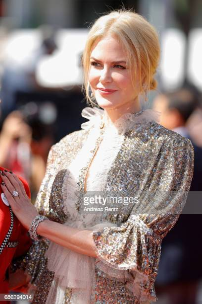 Actress Nicole Kidman attends the 'How To Talk To Girls At Parties' screening during the 70th annual Cannes Film Festival at on May 21 2017 in Cannes...