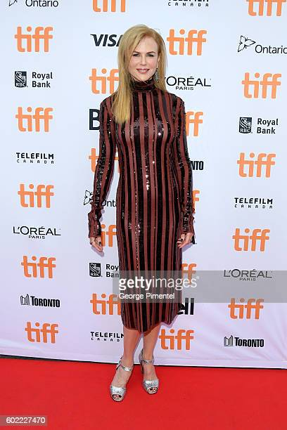 Actress Nicole Kidman attends the Lion premiere during the 2016 Toronto International Film Festival at Princess of Wales Theatre on September 10 2016...