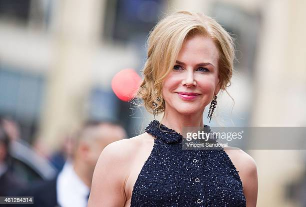 Actress Nicole Kidman attends the Los Angeles premiere of Paddington at TCL Chinese Theatre IMAX on January 10 2015 in Hollywood California