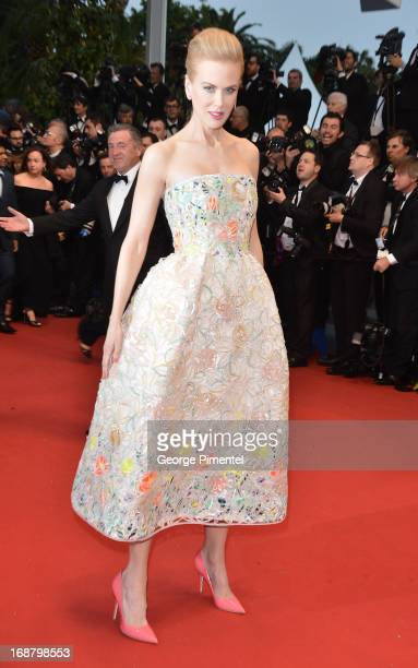 Actress Nicole Kidman attends the Opening Ceremony and Premiere of 'The Great Gatsby' at The 66th Annual Cannes Film Festival at Palais des Festivals...