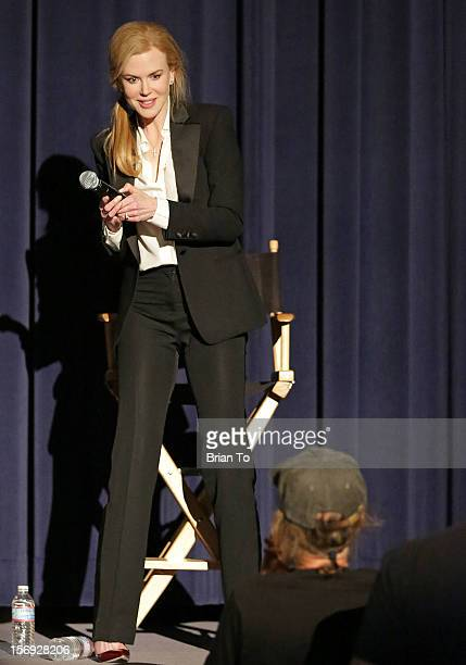 """Actress Nicole Kidman attends """"The Paperboy"""" Q&A with Nicole Kidman at Harmony Gold Theatre on November 24, 2012 in Los Angeles, California."""