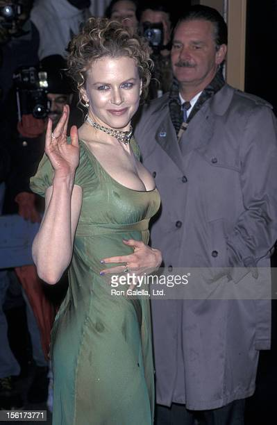 Actress Nicole Kidman attends 'The Portrait of a Lady' New York City Premiere on December 7 1996 at the United Artists Theatre in New York City