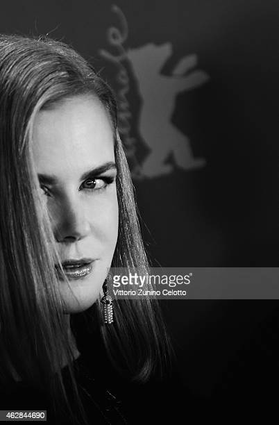 Actress Nicole Kidman attends the 'Queen of the Desert' photocall during the 65th Berlinale International Film Festival at Grand Hyatt Hotel on...