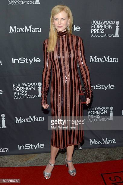 Actress Nicole Kidman attends the TIFF/InStyle/HFPA Party during the 2016 Toronto International Film Festival at Windsor Arms Hotel on September 10...
