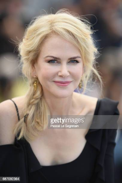 Actress Nicole Kidman attends the 'Top Of The Lake China Girl' photocall during the 70th annual Cannes Film Festival at Palais des Festivals on May...
