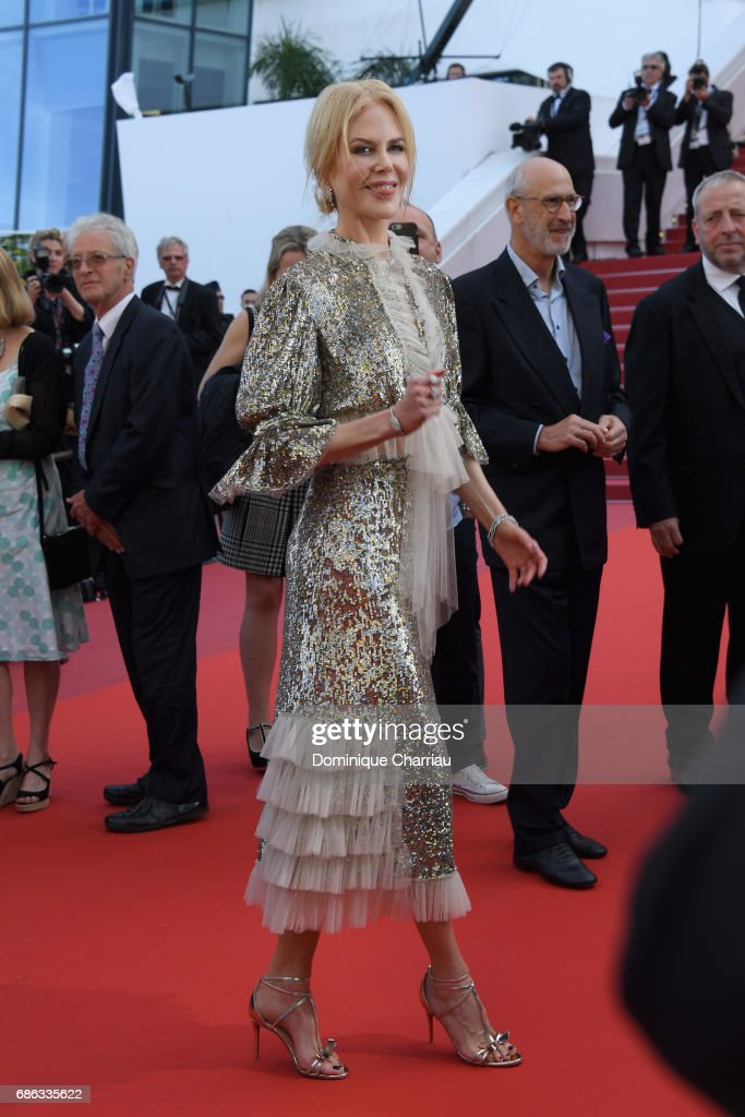 Actress Nicole Kidman departs after the 'How To Talk To Girls At Parties' screening during the 70th annual Cannes Film Festival at on May 21, 2017 in Cannes, France.