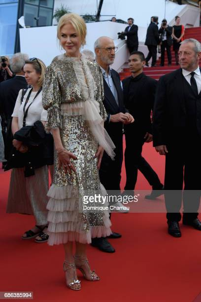 Actress Nicole Kidman departs after the 'How To Talk To Girls At Parties' screening during the 70th annual Cannes Film Festival at on May 21 2017 in...