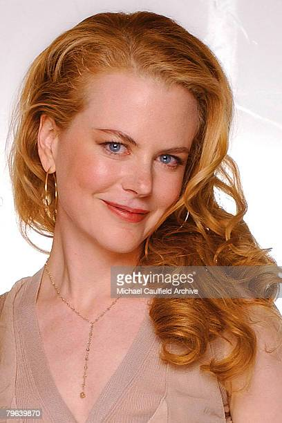 Actress Nicole Kidman is photographed at St Regis Hotel for Movieline's First Annual Breakthrough of the Year Awards on November 27 2001 in Los...