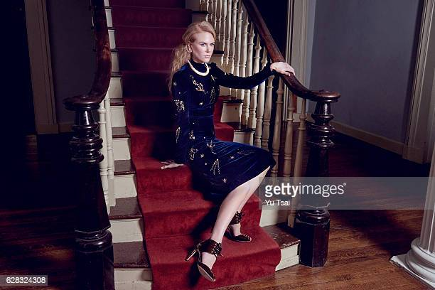 Actress Nicole Kidman is photographed for Flaunt Magazine on September 2 2016 in Nashville Tennessee PUBLISHED IMAGE