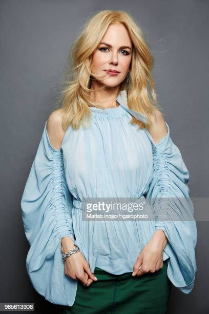 Actress Nicole Kidman is photographed for Madame Figaro on November 7 2017 in Paris France Shirt and skirt by Fendi PUBLISHED IMAGE CREDIT MUST READ...