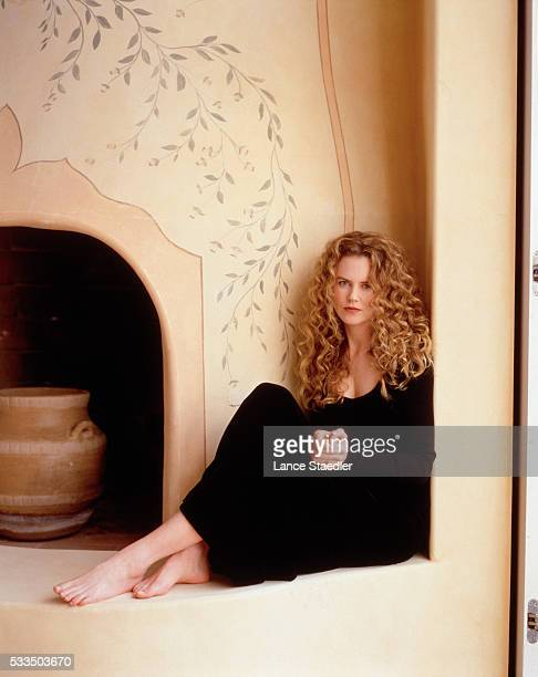 Actress Nicole Kidman is photographed for US Magazine in 1995 in Los Angeles California