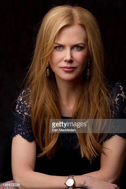 Actress Nicole Kidman is photographed for USA Today on January 13 2012 in Pasadena California